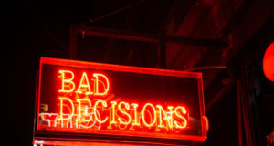Why do we make bad decisions